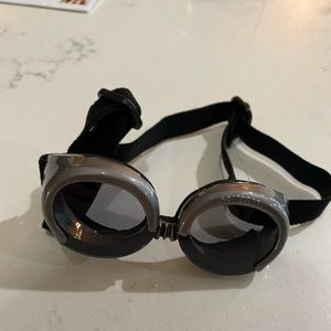 XS Silver Doggles Dog Goggles Extra Small